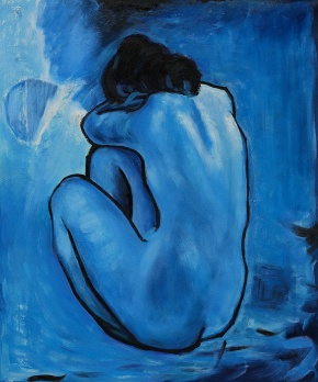 Picasso's Blue Period and a Poem
